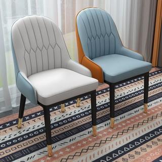 LISM 欧式轻奢餐椅靠背椅电脑椅餐桌椅书桌办公椅