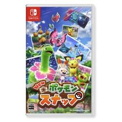 Nintendo 任天堂 日版 Switch游戏卡带 《新宝可梦 随乐拍》中文