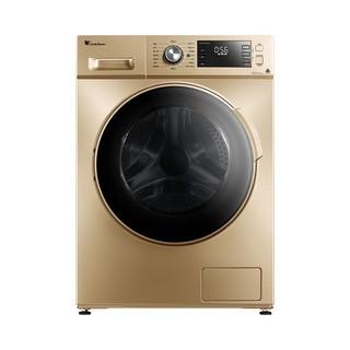 有券的上 : LittleSwan 小天鹅 净立方系列 TG100VN60DG 滚筒洗衣机 10kg 摩卡金