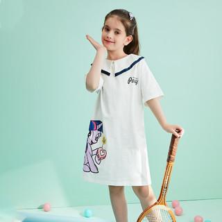 My Little Pony 小马宝莉 女童韩版时尚连衣裙