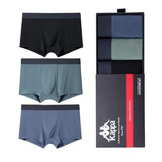 Kappa 卡帕 KP9K11男士50支莫代尔平角内裤 3条装