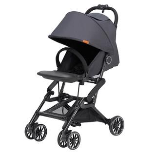 Combi 康贝 婴儿推车可折叠高景观宝宝推车可坐可躺单手收折口袋车 Bifold 724302 黑色