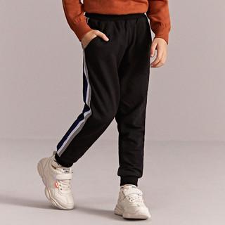 SEPTWOLVES 七匹狼 亲肤男童裤子运动裤长裤中大童儿童运动裤童装男裤