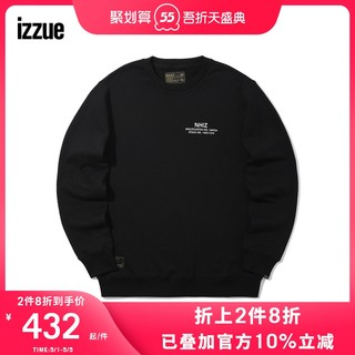 izzue NHIZ  x NEIGHBORHOOD男装卫衣冬季logo标签3156F9D