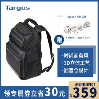 Targus 泰格斯 Targus泰格斯大容量双肩包15.6寸电脑包双肩背包男商务休闲多功能
