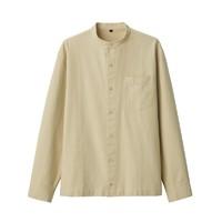 MUJI 无印良品 ACA04A0S 男式新疆棉牛津立领衬衫
