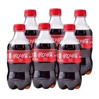 Coca-Cola 可口可乐 碳酸饮料 300ml*6瓶
