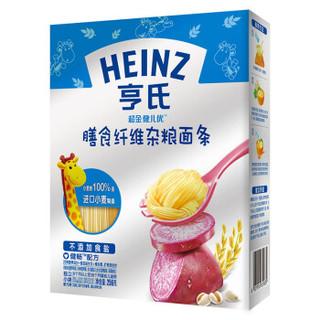 陪伴计划专享 : Heinz 亨氏 超金健儿优 儿童营养面条 杂粮味 256g