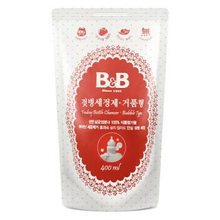 有券的上 : B&B 保宁 奶瓶清洁剂 泡沫型袋装400ml