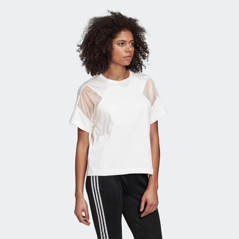 adidas 阿迪达斯  三叶草 FU3851 Angelababy同款 女款运动T恤