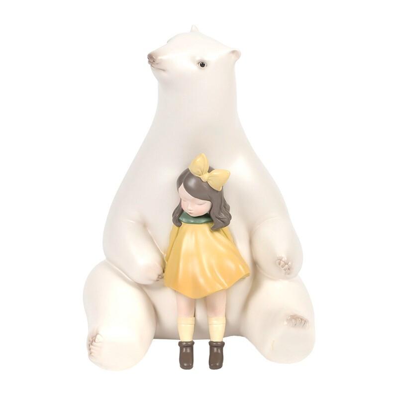 艺术品 : Ben Art Gallery 本艺术空间 本艺术空间 贾晓鸥 暖熊·夏夜 50×35×35 雕塑 高质宝丽石
