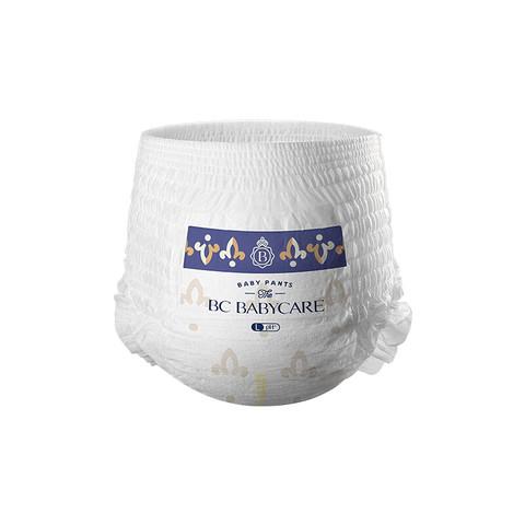 babycare  皇室木法沙的王国拉拉裤 皇室新升级 大号尿不湿弱酸超薄透气 体验装L4片(9-14kg)