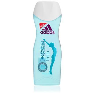 京东PLUS会员 : adidas 阿迪达斯 阿迪达斯(Adidas)女士焕彩健肤沐浴露沐清新舒爽250ml 清新透凉 持久留香