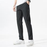 Deerway 德尔惠  F259008201 男款冰丝休闲裤