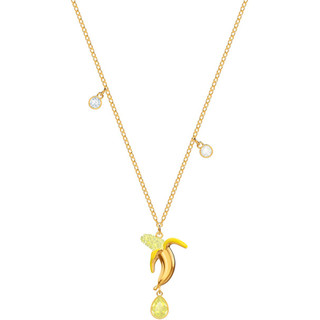 SWAROVSKI 施华洛世奇 5457504 女士香蕉造型项链