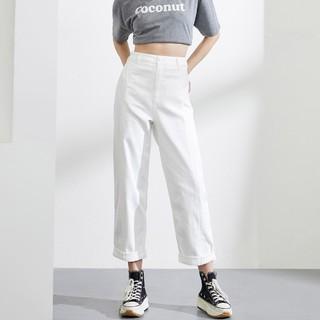 ONLY 2020夏季新款时尚腰带设计宽松显瘦舒适牛仔裤女|120249527