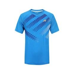 YONEX 尤尼克斯 男式羽毛球服 透气轻量运动T恤短袖上衣yy