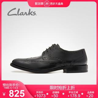 Clarks 其乐 clarks其乐男鞋休闲皮鞋商务正装皮鞋英伦风布洛克雕花德比鞋男