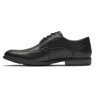 ROCKPORT 乐步 Rockport乐步商务皮鞋男真皮商务正装鞋韩版青年黑色皮鞋