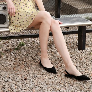 STEVE MADDEN 史蒂夫·马登 思美登专柜新款羊皮平底凉鞋女时尚尖头半凉鞋FREY