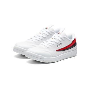 FILA 斐乐 斐乐男鞋撞色时尚百搭男款运动鞋男网球鞋男士网面透气运动鞋