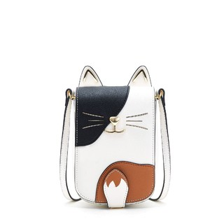Kiss Kitty 2021年夏新百搭女包可爱斜挎包小猫耳单肩手机包