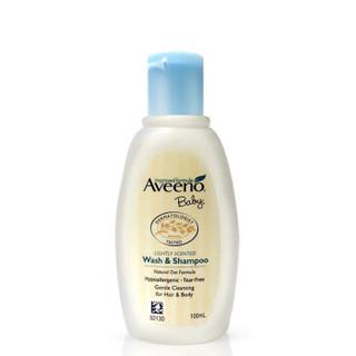 Aveeno 艾惟诺 每日倍护系列 婴儿洗发沐浴露二合一 100ml