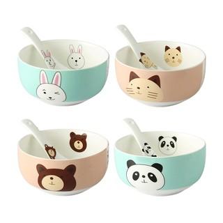 12:00  创意陶瓷碗勺套装 4个装