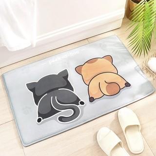 DeXi 得喜 地垫门垫进门浴室防滑垫卫生间门口脚垫家用卫浴吸水地毯厨房地垫