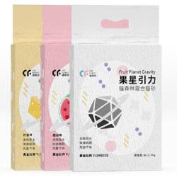 猫森林  果星引力混合豆腐猫砂 三种味道 6L