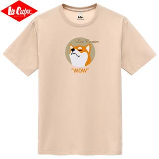 Lee Cooper 男士印花圆领短袖T恤
