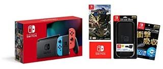 Nintendo 任天堂 任天堂 Switch 续航增强版+怪物猎人崛起 套装 日版