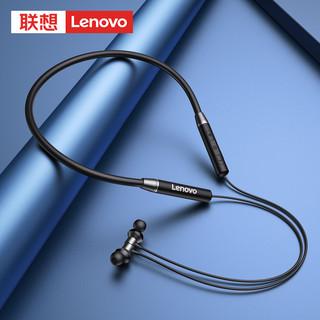 Lenovo 联想 Lenovo联想无线蓝牙耳机双耳入耳塞颈挂脖式运动型跑步挂耳头戴单项圈通话超长待机超长续航小米苹果华为通用