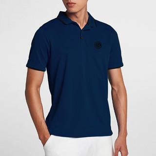 inter 国际米兰 国际米兰俱乐部Inter Milan官方2020夏季男子新款POLO衫简约时尚运动休闲短袖速干宽松百搭修身显瘦翻领上衣