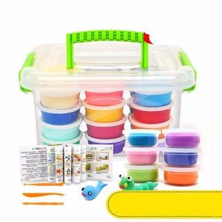 哦咯 粘土橡皮泥套装玩具彩泥玩具 12色彩盒