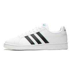 adidas 阿迪达斯 Adidas/阿迪达斯 男鞋 GRAND COURT BASE低帮小白鞋休闲运动鞋板鞋网球鞋EG5943