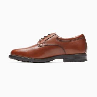 ROCKPORT 乐步 V82353 男士休闲英伦皮鞋 棕色 41/8
