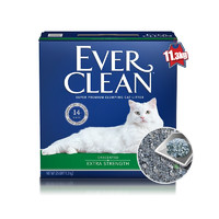Ever Clean 铂钻高端猫砂 活性炭膨润土猫砂 25磅 绿标