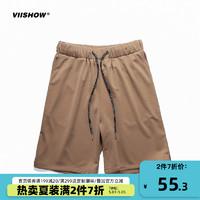 ViiSHOW  2018夏季新款休闲裤男潮牌宽松青年短裤子男帅气五分裤785