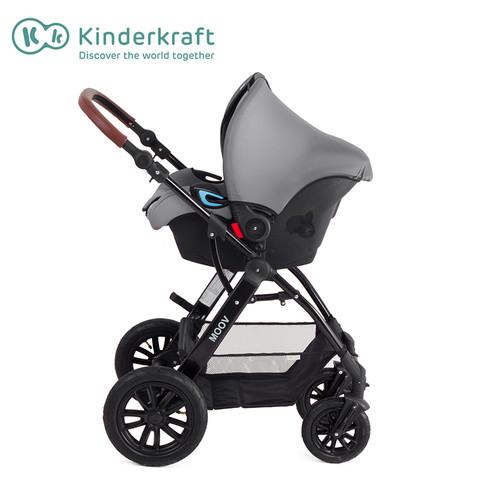 Kinderkraft 可可乐园 Kinderkraft Moov 多功能三合一组合婴儿车