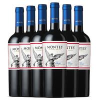 限地区:MONTES 蒙特斯 经典系列 梅洛干红葡萄酒 750ml*6整箱装