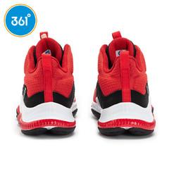 361° 361度 361°童鞋男童鞋春季新款减震防滑高帮篮球鞋361度中大童运动鞋