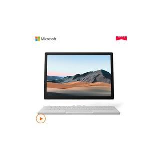 Microsoft 微软 微软 Surface Book 3 13.5英寸超轻薄二合一平板电脑设计师笔记本 i5 8+256G固态硬盘 银色