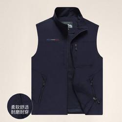 NIAN JEEP 吉普盾 2021春季新款马夹男运动户外男士马甲休闲百搭多口袋男背心外套