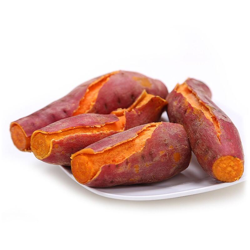 京东PLUS会员 : 静益乐源 六鳌红心蜜薯 500g中小果