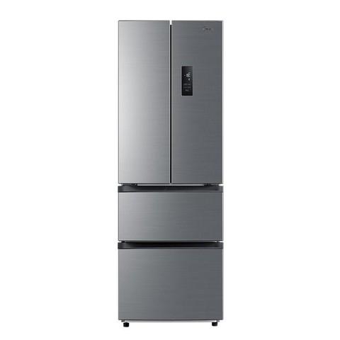 Midea 美的 美的323L法式多门四开双开门小尺寸小型风冷无霜变频一级家用冰箱