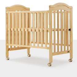 kub 可优比 KUB可优比实木婴儿床拼接大床调节高度移动新生多功能宝宝床bb床
