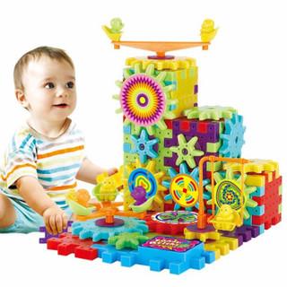 拥抱熊 顺丰快递早教婴儿玩具宝宝绕珠串珠儿童积木