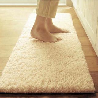 HONGLIDA 鸿荔達 加厚羊羔绒地毯家用纯色客厅茶几卧室满铺床边毯长方形榻榻米定制