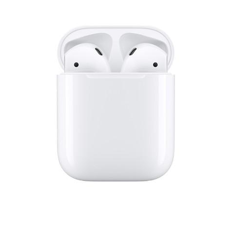 88VIP:Apple 苹果 AirPods(二代)真无线蓝牙耳机 有线充电盒版